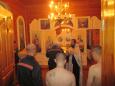 В ИК-7 УФСИН России по Республике Карелия десять осужденных приняли таинство крещения