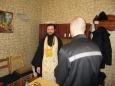 Иеромонах Мануил посетил исправительную колонию № 7