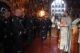 В храме исправительной колонии №9 отец Леонид совершил праздничный молебен в честь святого Иоанна Предтечи