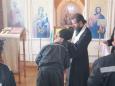 В ИК-7 УФСИН России по Республики Карелии 7 осужденных приняли Таинство Крещения