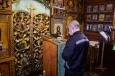 В храме во имя преподобного Ионы Яшезерского при ИК-9 прошел молебен