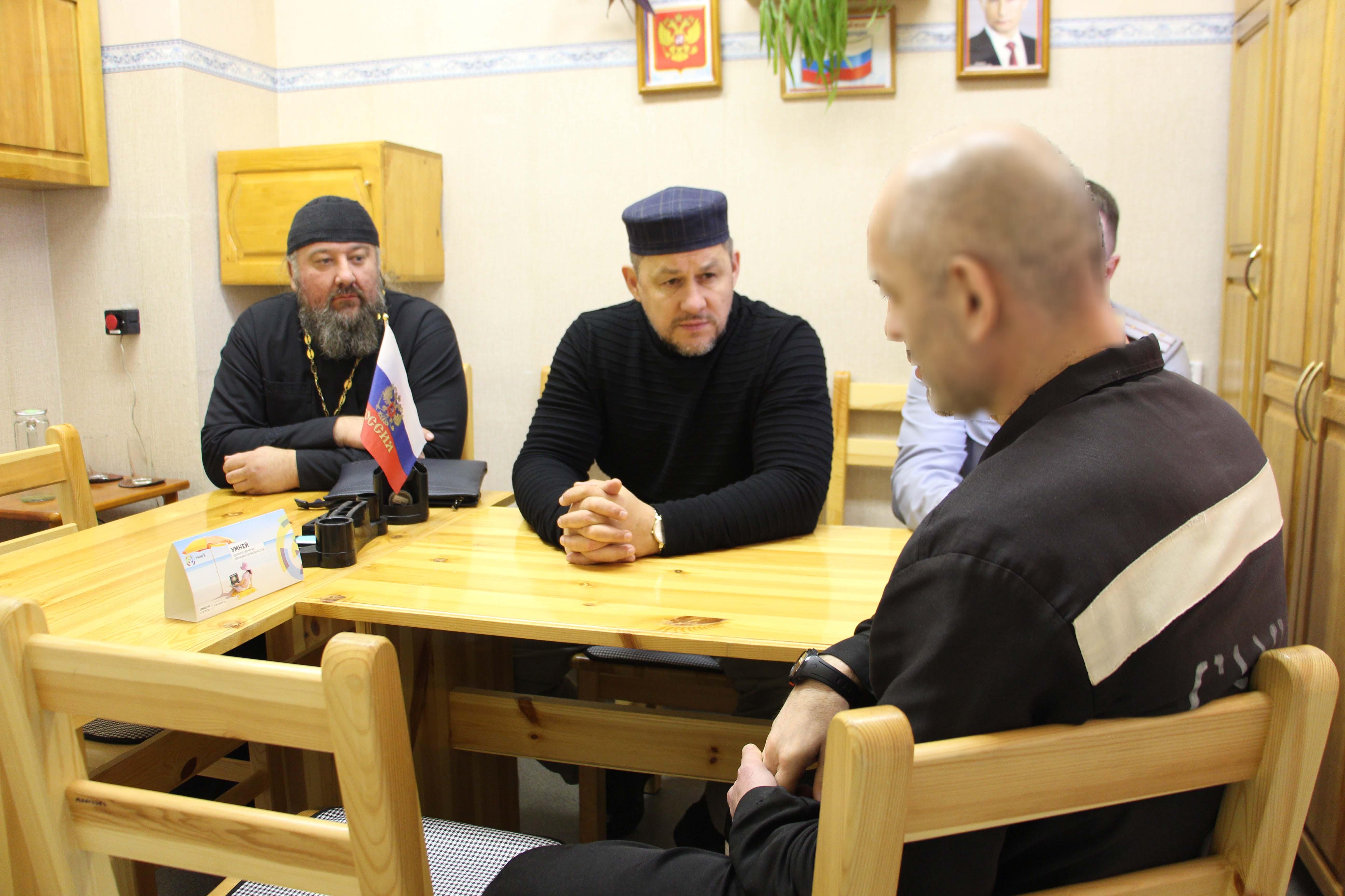 Исправительную колонию №9 посетили члены межрелигиозной комиссии